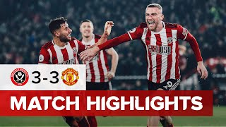 Sheffield United 3-3 Manchester United | Premier League highlights |