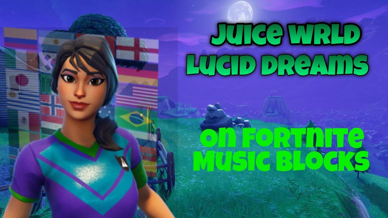 Fortnite lucid dreams creative code