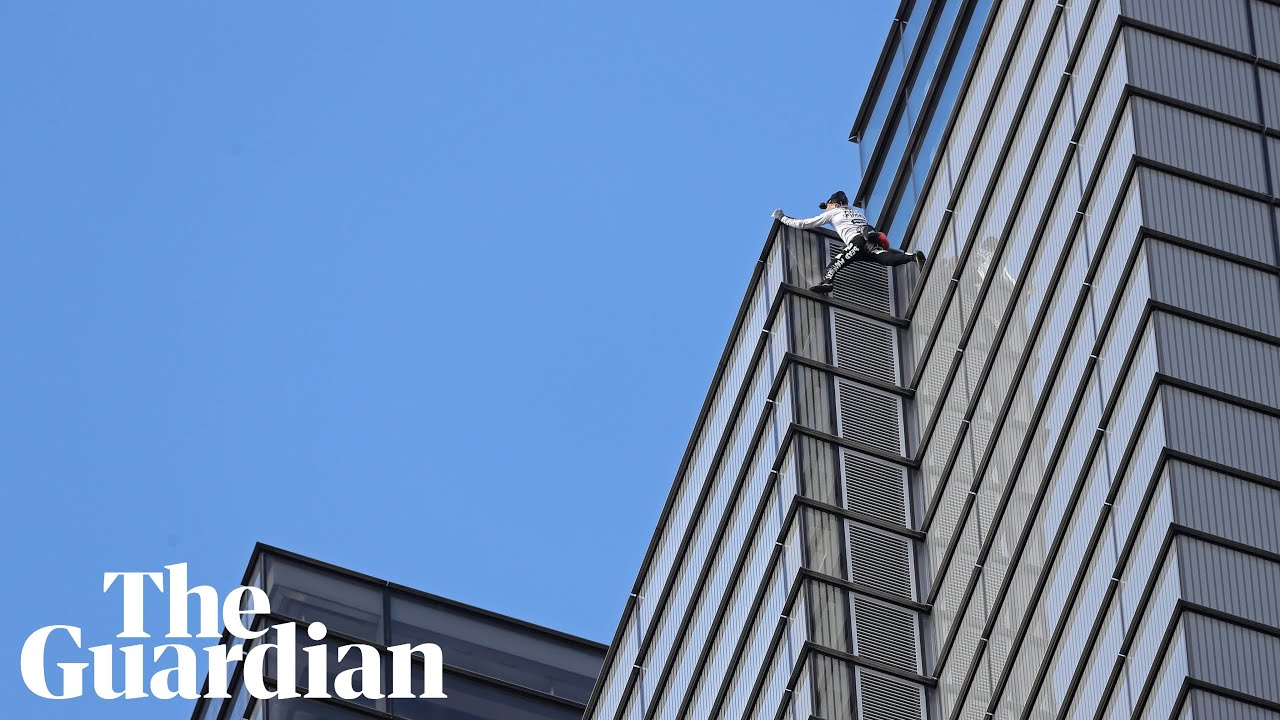 Alain Robert The French Spiderman Strikes Again Video Report