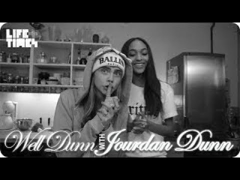 Jourdan Dunn and Cara Delevingne on Well Dunn Season 2 Premiere WELL DUNN With Jourdan Dun