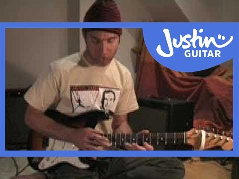 Finger Tapping Basics (Guitar Lesson RO-001) How to play