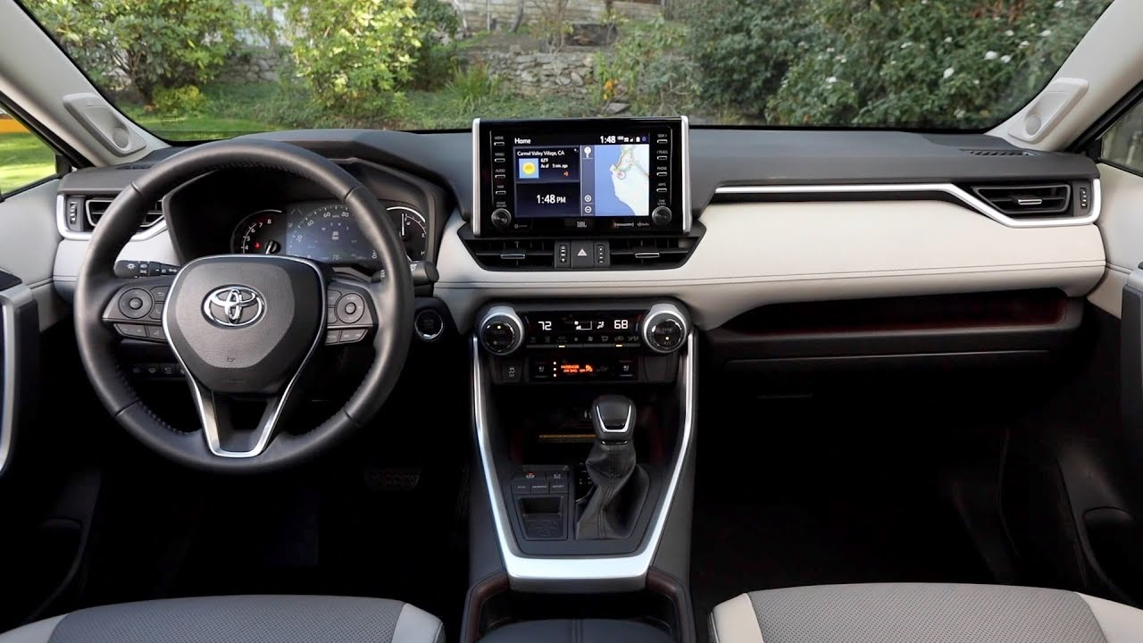 2019 Toyota Rav4 Limited Fwd Interior Youtube