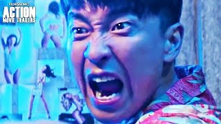 LOBSTER COP   Trailer for Wang Qianyuan Action Comedy Movie