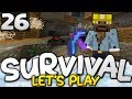CRAZIEST MINING TRIP YET!!! - Survival Let's Play Ep. 26 - Minecraft Bedrock (PE W10 XB1)