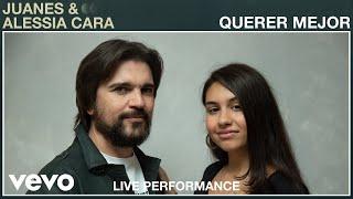 """Juanes, Alessia Cara - """"Querer Mejor"""" Live Performance   Vevo (Live)"""