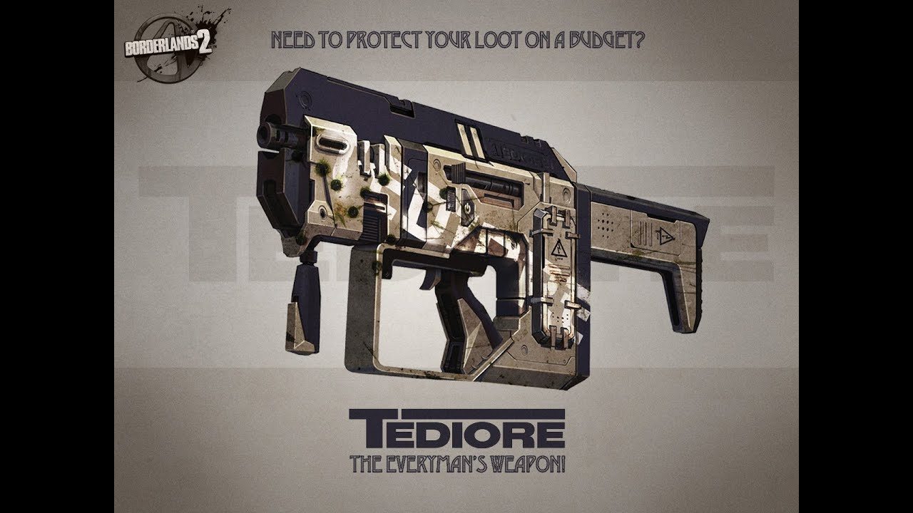 Borderlands 2 - Tediore Weapons Video - YouTube