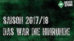 Saison 17/18: Die Werder-Hinrunde in Bildern