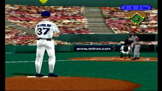 (PS1) TRIPLE PLAY 99 Full Game Twins @ Astros