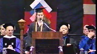 Jenny Hill's Commencement Speech