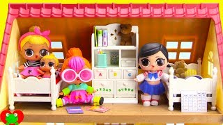 LOL Surprise Dolls New Bedroom Bunk Bed Set