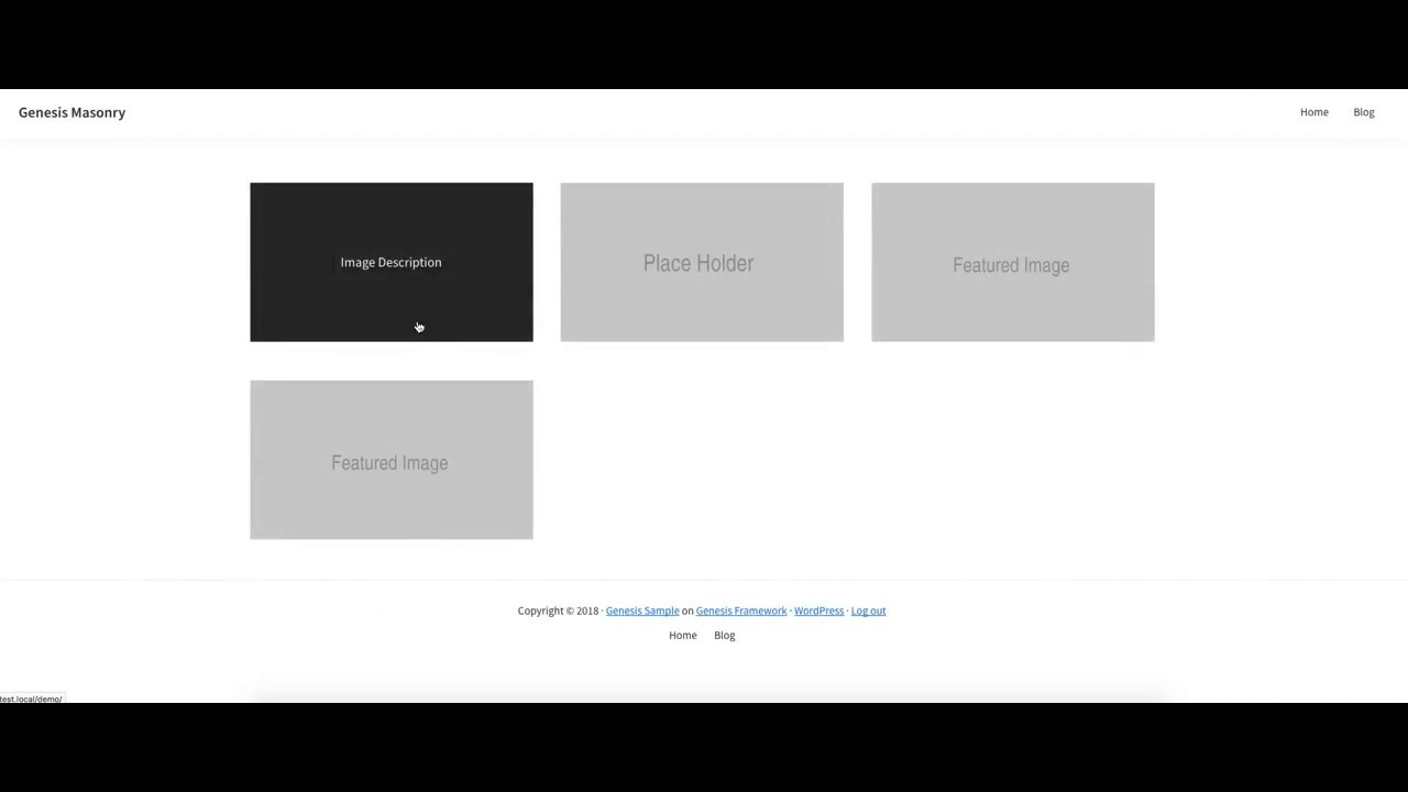 Masonry Archive Template With Image Hover Overlay - YouTube