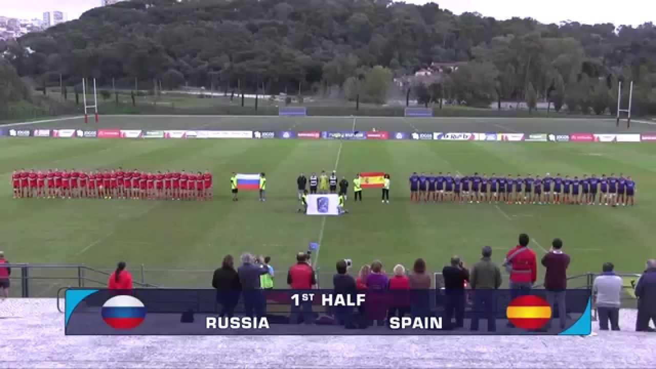 U19 футбол россия испания
