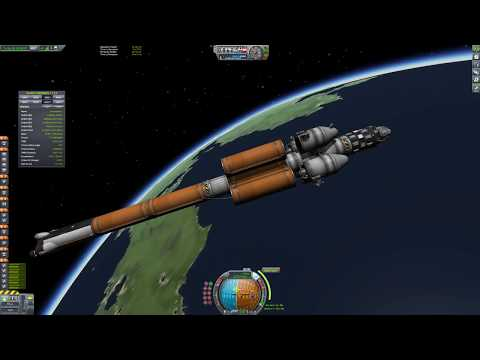 KSP - Interplanetary mining - 3 Star mission, Harvest 2400 ore from Ike and land on Duna