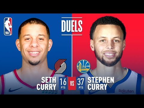 Brothers Stephen & Seth Curry Battle In One Of A Kind Duel | May 16, 2019