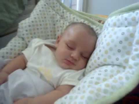 Baby Smiling While Asleep, Cute