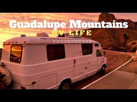 Guadalupe Mountains  RVlife