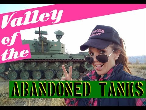 Valley of the Tanks: Abandoned Military Range