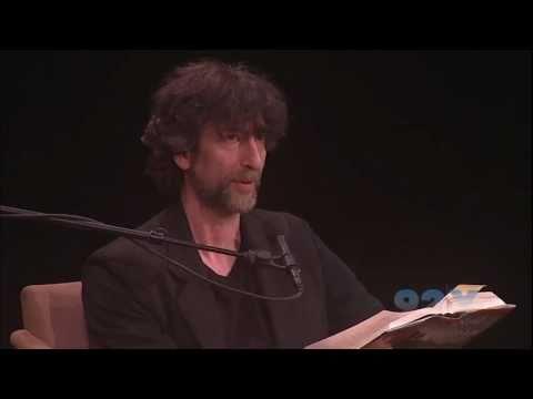 Neil Gaiman with Lev Grossman