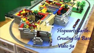 Lego Hogwarts Castle - Creating The Base - Video 5a