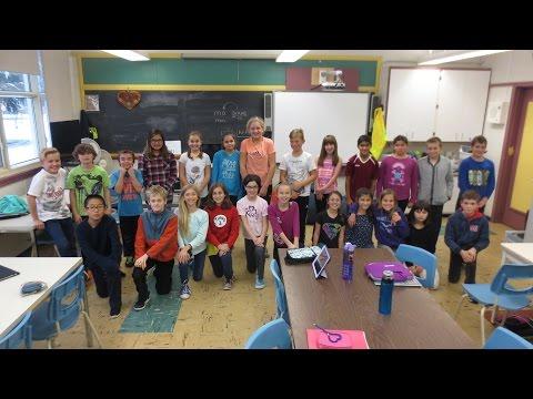 "Dorset Elementary School – Grade 5 Class performing ""Stitches"" – CBC Music Class Challenge 2016"