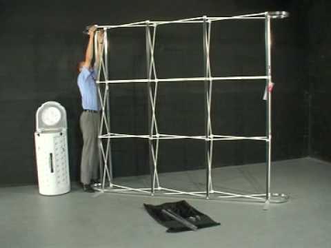 Portable Exhibition Kit : Insta exhibition kit youtube