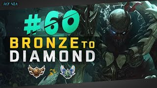 Very Strong: Pyke BELONGS in the Jungle! | Jungle Pyke | Depths of Bronze to Diamond Episode #60