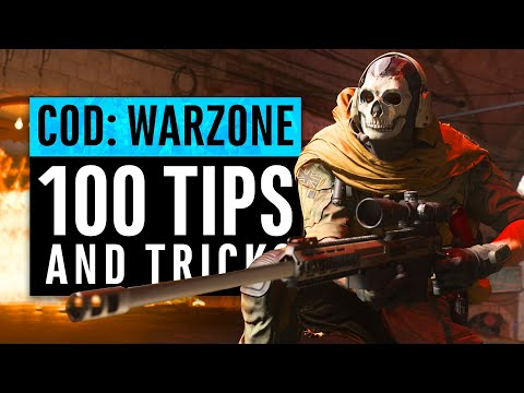 Call Of Duty Warzone   100 Tips And Tricks - LEARN EVERYTHING FAST (Modern Warfare)