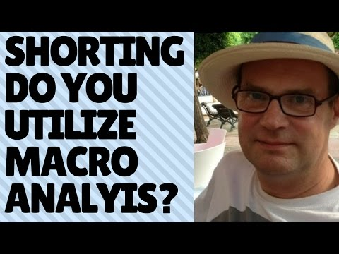How much of the fundamental / macroeconomic picture do you involve in your analysis?