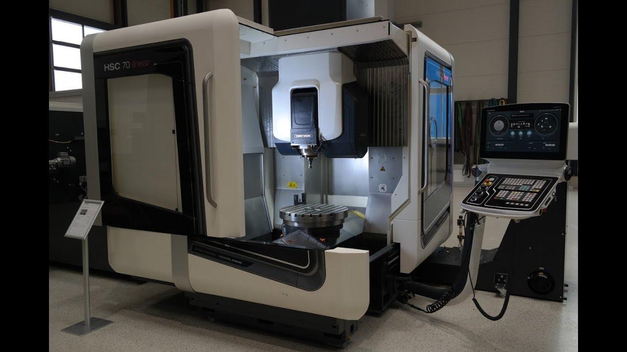 Dmg Mori Hsc 70 Linear G S Werkzeugmaschinen