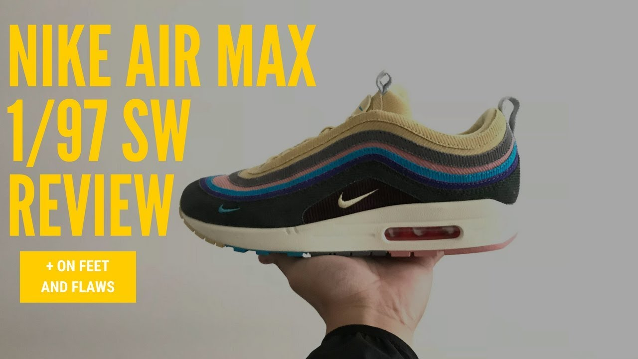 410c767fb88 Sean Wotherspoon 97 1 (OWF) Unboxing+Flaws+Onfeet - YouTube