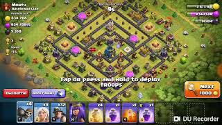 Clash of clans bh8 crazy attack with beta minions and drop ship 2018