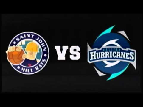 Saint John Mill Rats vs Halifax Hurricanes Feb 28 2016
