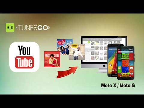 [YouTube Music Downloads]: How to Download Music from YouTube to Moto G3 / Moto G2 on Windows, Mac