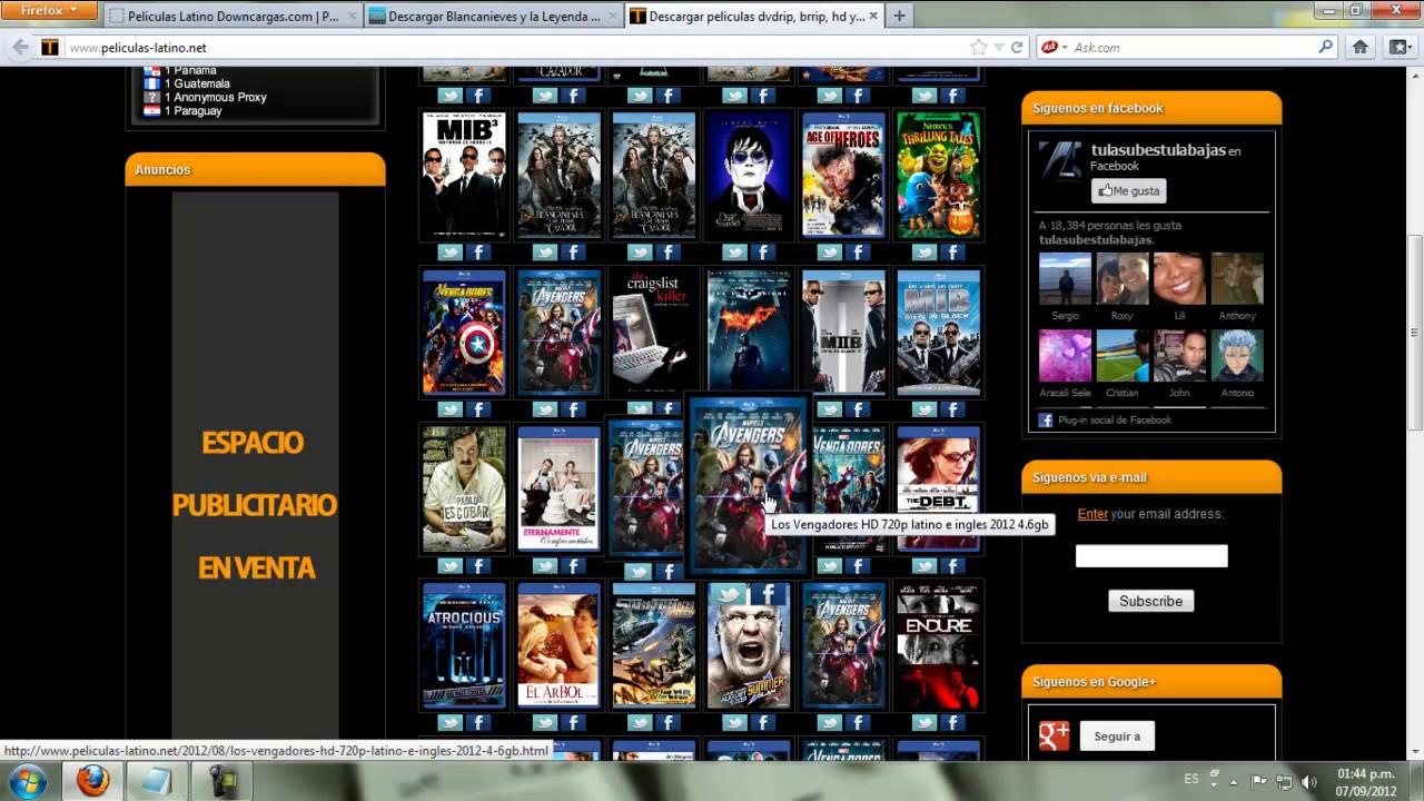 Paginas para ver series online gratis en español latino