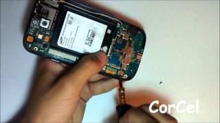 Desmontar o Desarmar Samsung Galaxy S3 GT-I9300 En Español HD