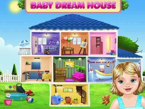 baby dream house care play and party at home ipad app demo for rh youtube com
