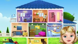 Baby Dream House - Care, Play and Party at Home! - iPad app demo for kids - Ellie