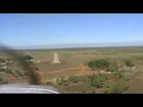 Piper Lance Landing at YBRL Borroloola