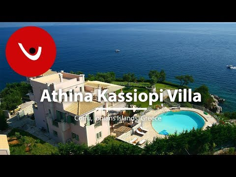 Athina Kassiopi Villa to Rent in Corfu Greece | Unique Villas | uniquevillas.gr