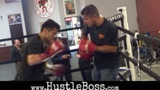 Marcos Maidana stepping up the intensity in training for his clash with Adrien Broner