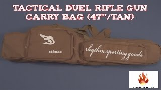 (review) Tactical Duel Rifle Gun Carry Bag With Shoulder Strap
