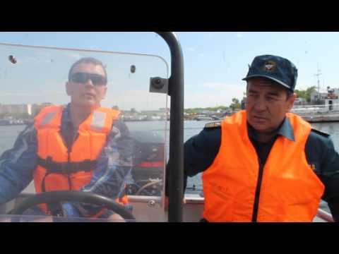 Экзамен на управление моторной лодкой