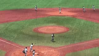 都立小山台高校野球部 シートノック(2018年度 東東京大会_180724)koyamadai High School Baseball Club Fielding Practice 20180724