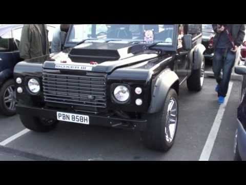 Land Rover Defender H1 Hummer Concept Car Hybrid The