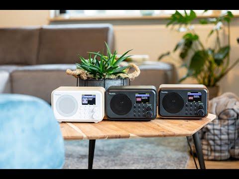 Audizio Venice WiFi Internet Radio, Bluetooth Speaker en Wekkerradio