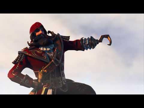 Fortnite Season 8 Cinematic Trailer - Pirates And Treasure