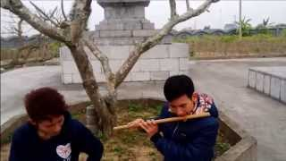Sầu tím thiệp hồng - sáo trúc Fa trầm- Cao Trí Minh- tại chùa Thắng Phúc- Hải Phòng