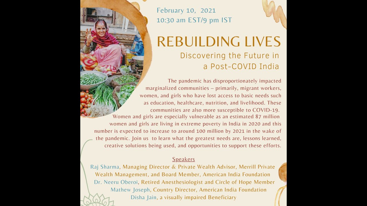 Rebuilding Lives: Discovering the Future in a Post-COVID India