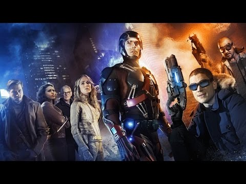 DC Comics Legends of Tomorrow | official First Look trailer (2016) Wentworth Miller Dominic Purcell fragman