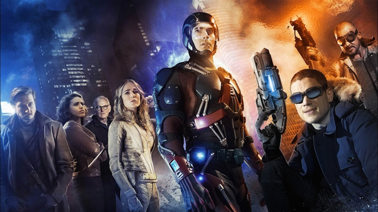 DC Comics Legends of Tomorrow | official First Look trailer (2016) Wentworth Miller Dominic Purcell